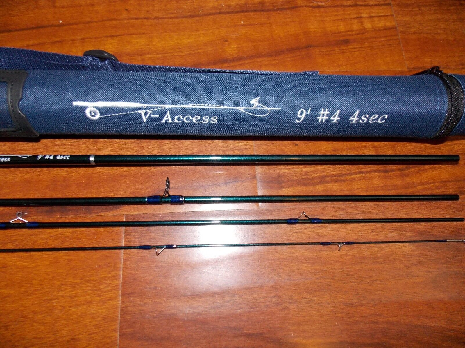 4 WT VAccess  Fly Fishing Rod   9 Foot  4 Sec. with Tube  FREE 3 DAY SHIPPING