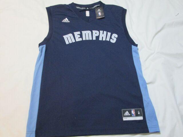 adidas NBA Authentics Memphis Grizzlies Basketball Jersey Mens ...