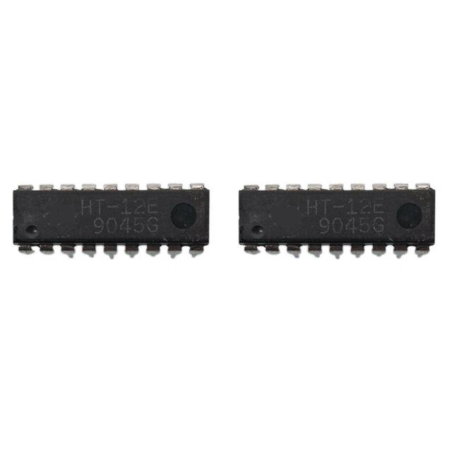 Ht12e 12-bit codificador para control remoto dip 18 Holtek