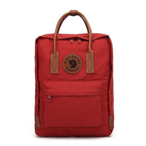 2 Rucksack Schulrucksack Backpack Reise Tasche Daypack Fjällräven kanken No
