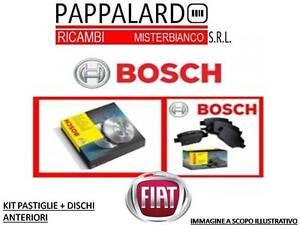 DISCHI-FRENI-E-PASTIGLIE-BOSCH-FIAT-MAREA-185-1-9-TD-100-DAL-1996-0986424593