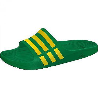 save off e6d58 bbee3 Adidas Hommes Duramo Glissière Sandales Chaussures de Plage Tongs - D97205 -