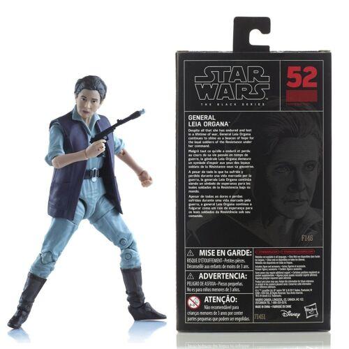 """Star Wars the Black Series The Last Jedi #52 General Leia Organa 6/"""" Figure NIB"""