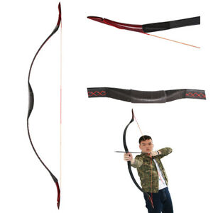 """Recurve New 20-50lbs Archery Hunting 55"""" Traditional Recurve Bow Longbow Shooting Target Possessing Chinese Flavors Bows"""