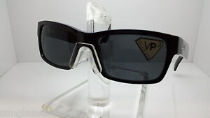 8fb0487835 Image is loading VON-ZIPPER-ELMORE-PBV-SUNGLASSES-GLOSSY-BLACK-POLARIZED