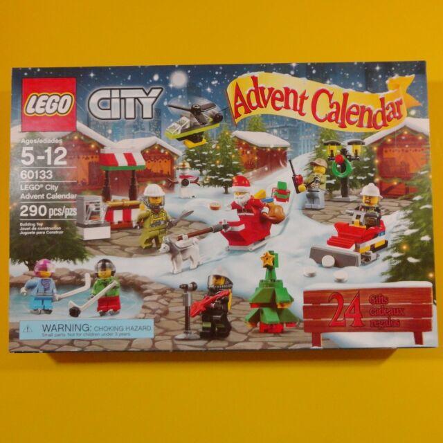 LEGO City Advent Calendar Christmas (Countdown 24 Days/Gifts) #60133 - 290pcs