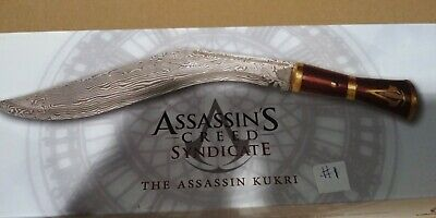Assassin S Creed Syndicate Kukri Dagger Official Licensed Ebay