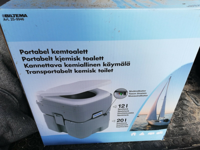 Wc, Fint camping toilet
