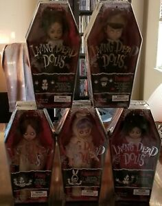 Living Dead Dolls Series 1 All 5 with FREE SHIPPING