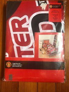 Manchester United Fc Football Club Single Duvet Quilt