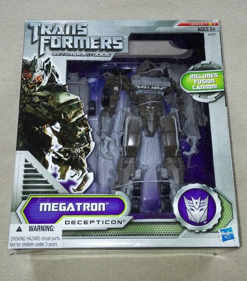 Hasbro Transformers Universal Studios PROMO Megatron Decepticon niveau 2 RARE