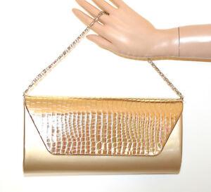 POCHETTE-ORO-DORATO-borsello-metallizzato-donna-borsa-borsetta-gold-bag-sac-G54