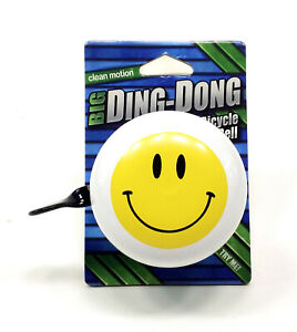 CLEAN MOTION DING DONG FLAG BICYCLE BELL