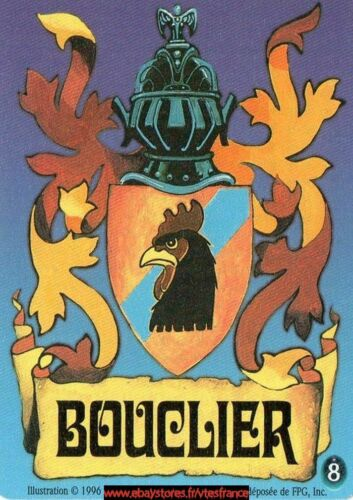 """Bouclier /""""poulet/""""8 FR Limited Guardians CCG"""
