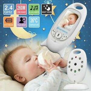 "2"" Baby Monitor 2.4GHz Color LCD Wireless Audio Talk Night Vision Digital Video 5012786176249"