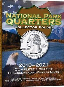 National-Parks-Quarter-Folder-Album-2010-2021-Philadelphia-Denver-Whitman-Deluxe