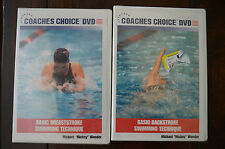 Coaches Choice DVD: Basic Breaststroke & Backstroke Swimming Technique