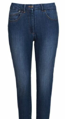Ex M/&S Jeggings Mid Rise Ladies Womens Stretchy Crop Cropped Pants Leggings 6 18