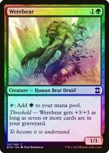 Elvish Vanguard FOIL Eternal Masters NM-M Green Common MAGIC MTG CARD ABUGames