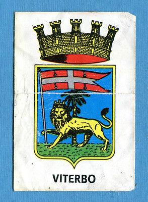 ARALDICA STEMMI N FOL-BO 1972 VITERBO FIGURINA TUTTA ITALIA ED 393