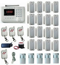 101 Zones GSM/PSTN/SMS/Call Voice Smart Wireless Home Alarm Security System L516