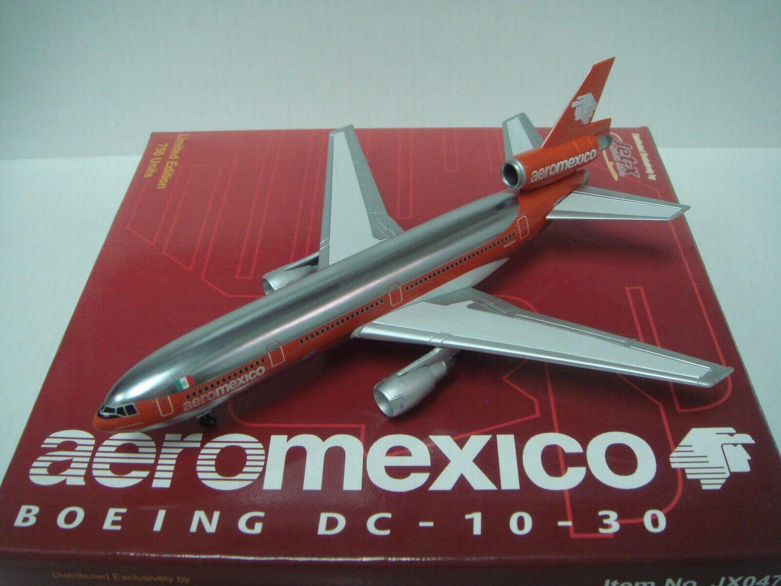 Jet X Aeromexico DC-10-30  1982 S couleur-Ciudad de Mexico  1 400 METAL MAGIC