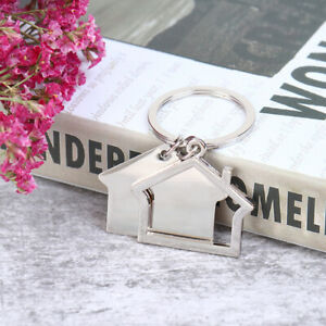 New-Cute-Cartoon-House-With-Window-keychain-Cute-Key-Chain-Bag-Accessories-QA