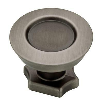 "Liberty P84061C-SC Satin Chrome 1 1//4/""  Flat Top Cabinet Drawer Knob"