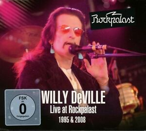 Willy-DeVille-Live-at-rock-Palazzo-2-DVD-CD-NUOVO