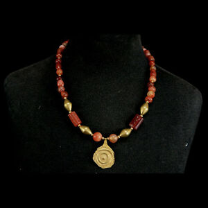 Delicious An Ancient Anatolian Necklace Y537 Strong Resistance To Heat And Hard Wearing Near Eastern