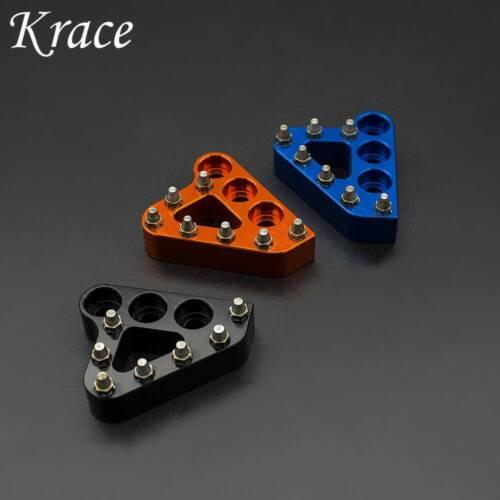 For KTM 125 150 SX 150XCW 250 350 450 SXF XCF CNC Step Plate Brake Pedal