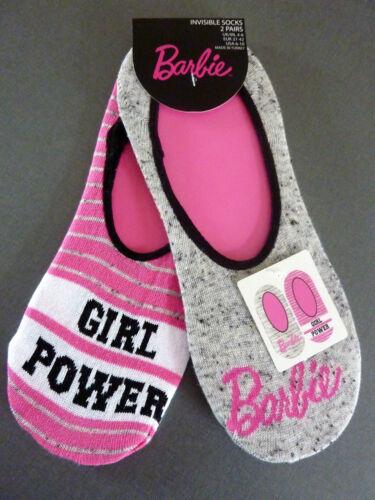 2 Paar Barbie Damen Sneaker Socken Strümpfe 37-38-39-40-41-42 Mattel Primark