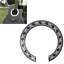 Replacement-104mm-Hard-PVC-Circle-Sound-Hole-Rosette-Inlay-For-40-41-inch-Guitar