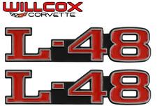1973-1979 Corvette L-48 Hood Emblem Set