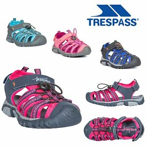 Trespass-Kids-Girls-Boys-Summer-Beach-Sandals-Casual-Walking-Shoes