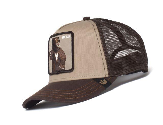 9ce77d02 Goorin Bros. Men's Animal Farm Snap Back Trucker Hat, Brown Bear One Size