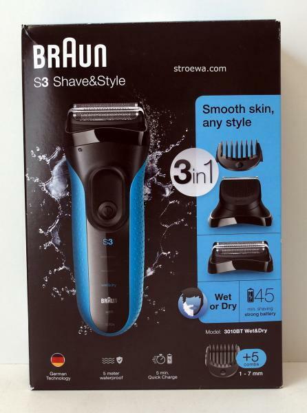 Braun Series 3 3010BT Rasierer