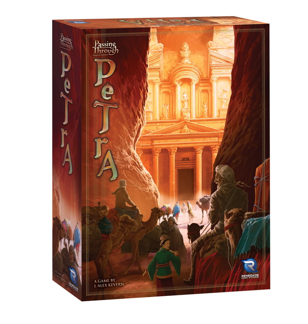 Passing Through Petra - Board Game - New --
