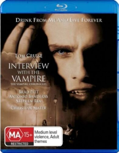 1 of 1 - Interview With The Vampire (Blu-ray, 2009) New, ExRetail Stock (D146)