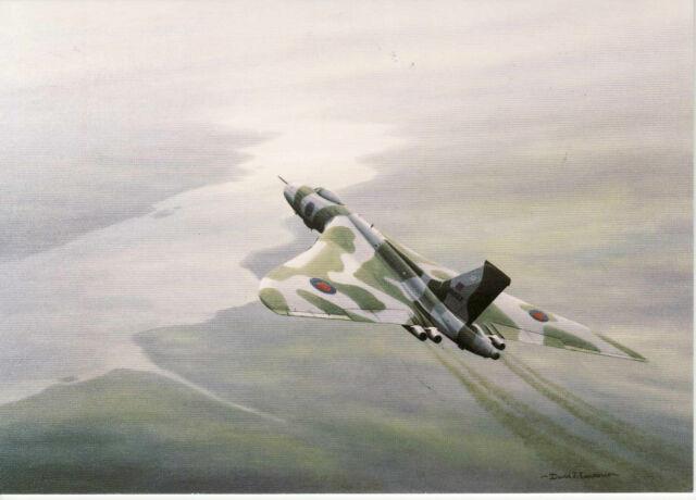 Vulcan  Bomber Avro Hawker Siddeley BAE Systems last RAF Flight  Art d'aviation