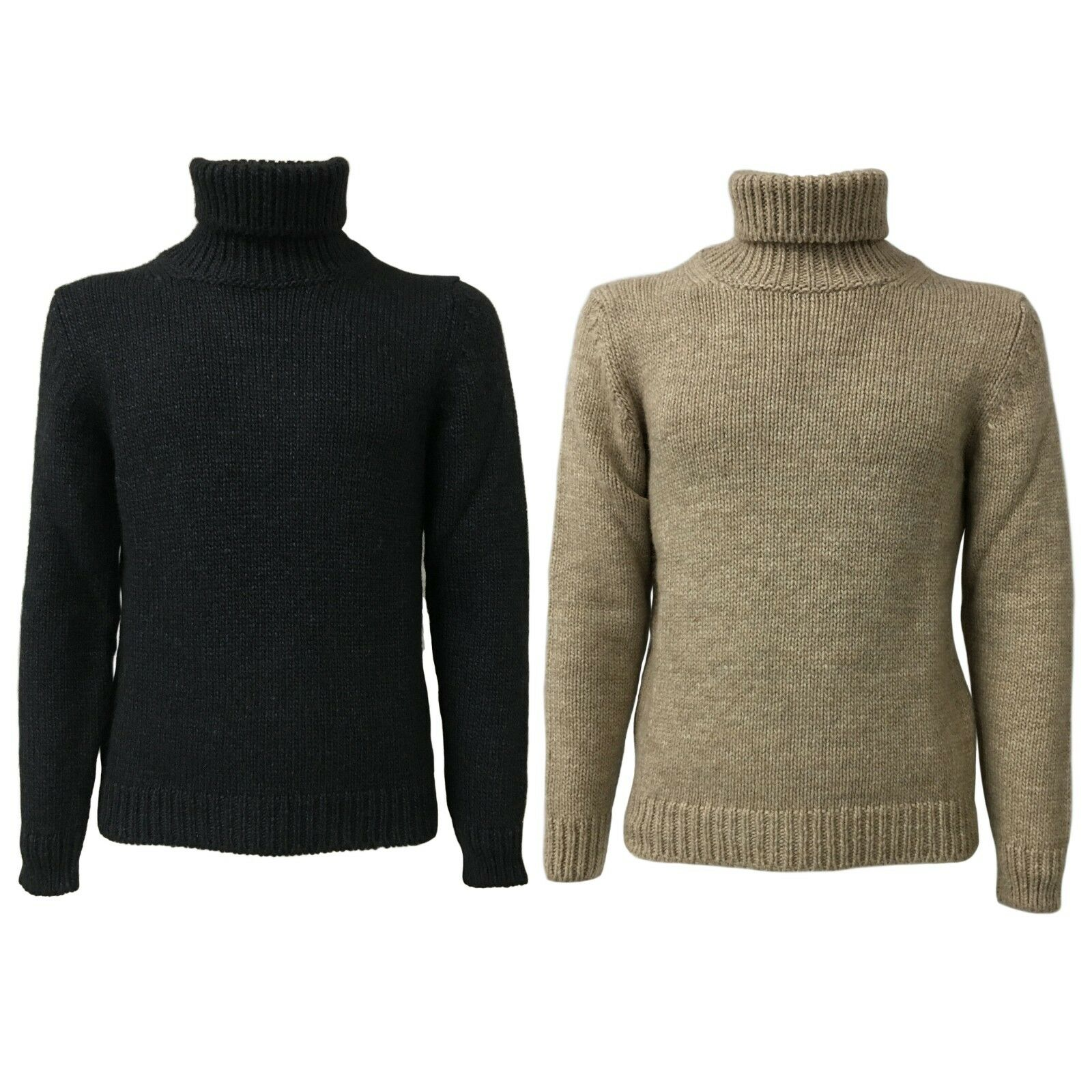 892ebbc3d Details about SETTEFILI CASHMERE men s sweater wool polo neck mod  RA6BUR.BN11 MADE IN ITALY