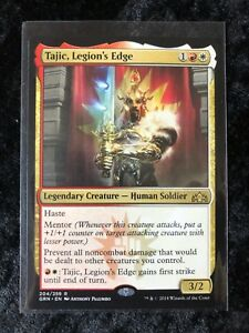 Gold Guilds of Ravnica Mtg Magic Rare 4x x4 4 Tajic Legion/'s Edge