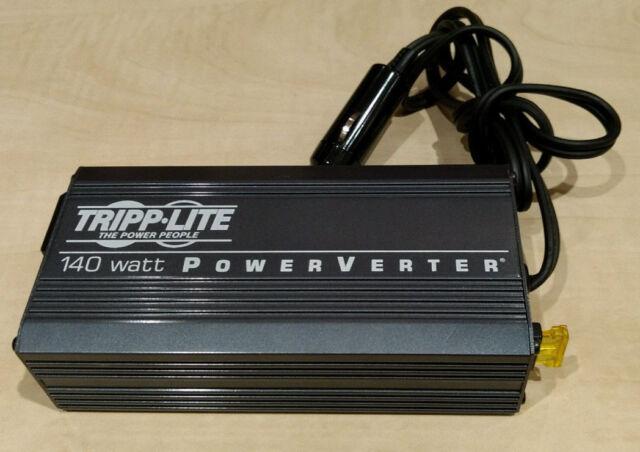 TrippLite 140-Watt 140W PowerVerter,115V AC Outlet Ultra-Compact Inverter PV140