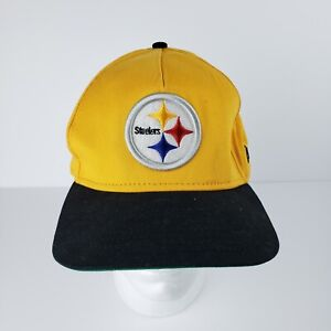 PITTSBURGH-STEELERS-NFL-NEW-ERA-9FIFTY-METAL-THREAD-SNAPBACK-HAT-CAP