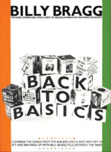 Billy Bragg Lyrics /& Chords Sheet Music Artist Song Back To Basics Melody Line