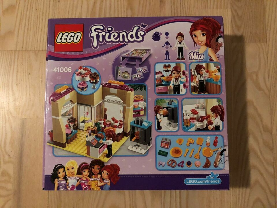Lego Friends, 41006 Down Town Bakery