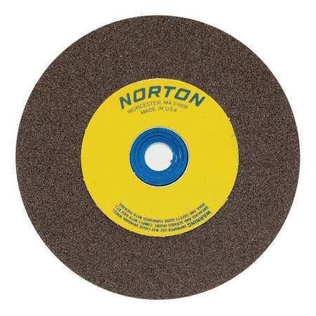 NORTON 66253161251 Grinding Wheel,T1,10x1.25x1.25,AO,60//80