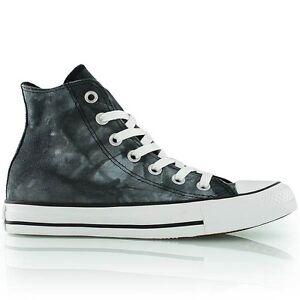 dce1ba5463b0 Converse All Star Hi Top Black White Tie dye Chuck Taylor New