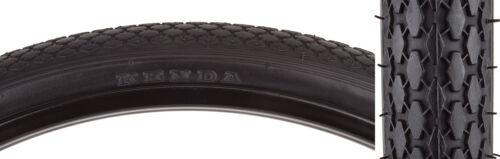 Pair 26 x 1 3//4 Schwinn S7 Bike Bicycle Tire Black Kenda With Tubes /& Strips