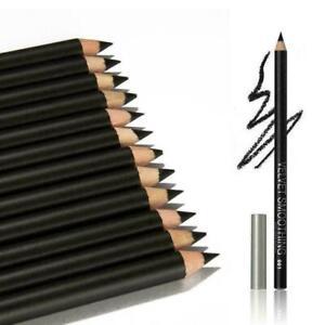 12-PCS-Wasserdicht-Eye-Liner-Schoenheit-Kosmetische-Schatten-s-Schwarz-Blei-W4I8